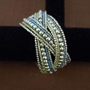 Gorgeous 😍 Beaded Bangle Bracelet